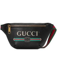 Gucci - Print Small Belt Bag - Lyst