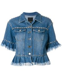 Pinko - Lucy Denim Jacket - Lyst