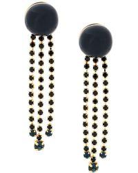 Marni - Long Embellished Earrings - Lyst