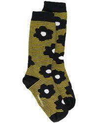 Henrik Vibskov   Floral Striped Socks   Lyst