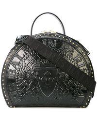 Balmain - Logo Medallion Drum Bag - Lyst
