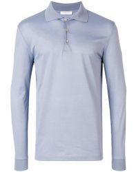 Boglioli - Long Sleeve Polo Shirt - Lyst