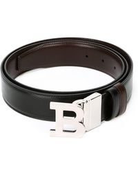 Bally | Logo Buckle Belt | Lyst