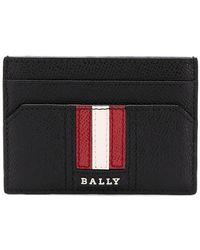 Bally - Logo Stripe Cardholder - Lyst