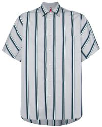OAMC - Short-sleeve Striped Shirt - Lyst