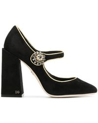 Dolce & Gabbana - Mary Jane Court Shoes - Lyst