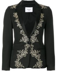 Dondup | Embroidered Elysia Blazer | Lyst