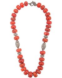 Loree Rodkin - Coral Maharajah Beaded Necklace - Lyst