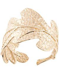 Karen Walker Ring im Blattdesign