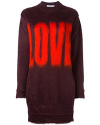 Givenchy | Love Printed Jumper | Lyst
