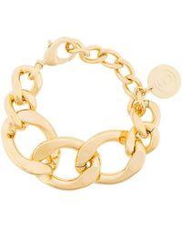 MM6 by Maison Martin Margiela - Oversized Cable Chain Bracelet - Lyst