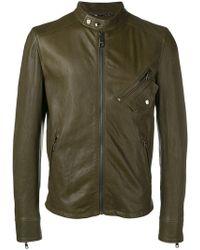 Dolce & Gabbana - Zipped-up Bomber Jacket - Lyst