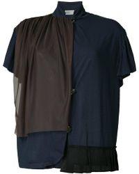 Kolor - Patch Polo Shirt - Lyst