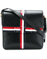 Thom Browne - Square Gift Box Leather Bag - Lyst