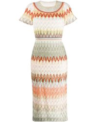 Missoni - Fine Knit Dress - Lyst