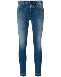 Jacob Cohen | Kimberlt Cropped Jeans | Lyst