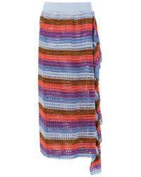 Cecilia Prado - Audrey Knitted Midi Skirt - Lyst