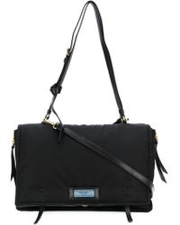 Prada - Etiquette Shoulder Bag - Lyst