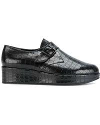 Robert Clergerie - Monk Strap Platform Loafers - Lyst