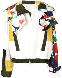 Sacai Asymmetrische Jacke