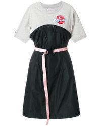 Palm Angels - Drawstring-detailed T-shirt Dress - Lyst