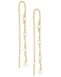 Astley Clarke - Calder Chain Earrings - Lyst