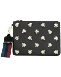 Carven - Pearl Embellished Clutch - Lyst