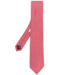 Ferragamo - Anchor Micro Print Tie - Lyst