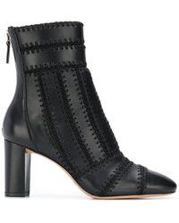 44f80266460e Alexandre Birman - Stitch Detail Ankle Boots - Lyst
