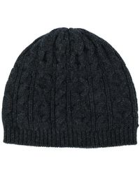Pringle of Scotland - Cable Knit Beanie - Lyst