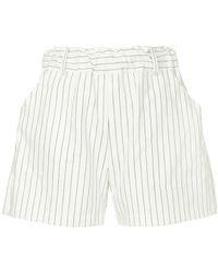 Matin - Pinstripe Shorts - Lyst