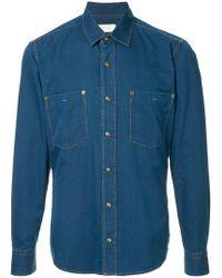 Cerruti 1881 - Denim Shirt - Lyst