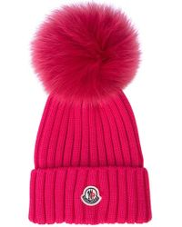 Moncler - Ribbed Knit Hat - Lyst