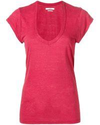 Étoile Isabel Marant - U-neck T-shirt - Lyst