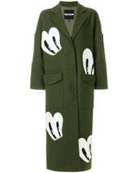 House of Holland - Patch Detail Coat - Lyst