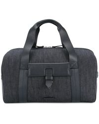 Cerruti 1881 - Leather Panel Holdall - Lyst