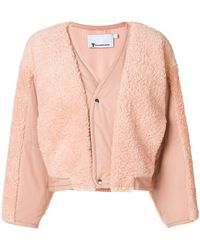 T By Alexander Wang - Padded Jacket - Lyst