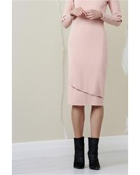 Finders Keepers - Ainsley Knit Skirt - Lyst