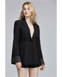 C meo Collective - Long Gone Contrast Blazer - Lyst 9fbf3e74152