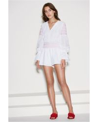 adfb45a8255 The Fifth Label - Riverine Long Sleeve Playsuit - Lyst