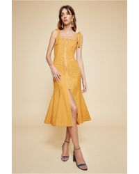 C/meo Collective - Get Right Midi Dress - Lyst