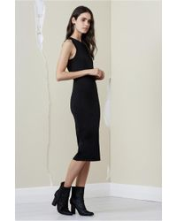 Finders Keepers - Ainsley Short Sleeve Knit Dress - Lyst