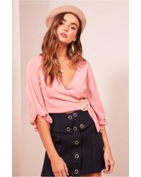 Finders Keepers - Soundcheck Skirt - Lyst