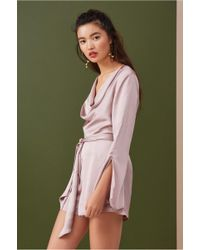 b233f22d725 Finders Keepers Drift Playsuit in Red - Lyst