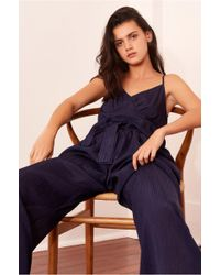 6066bf37ea3 The Fifth Label Stay Awhile Jumpsuit in Orange - Lyst