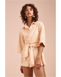 C/meo Collective - Believe In Me Playsuit - Lyst