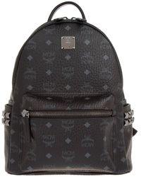 MCM - Stark Backpack Small Black - Lyst