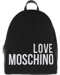 Love Moschino - Canvas Backpack - Lyst