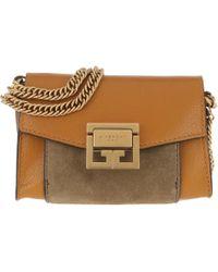 Givenchy - Gv3 Nano Crossbody Bag Amber Mastic - Lyst