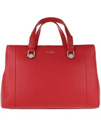 HUGO - Mayfair Tote Bright Red - Lyst